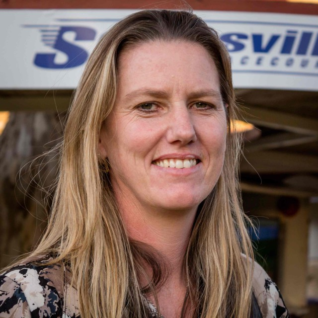 Alyson Wright - horse racing trainer