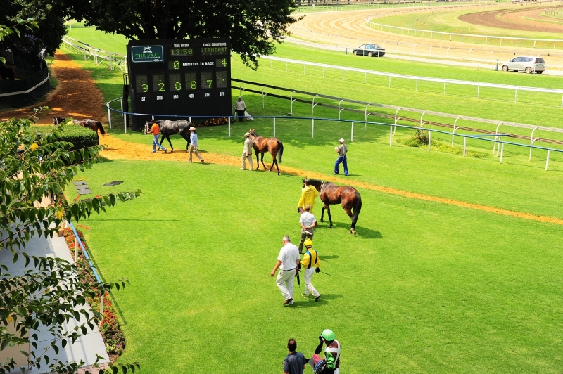 Vaal Racecourse - Horse Racing - South Africa